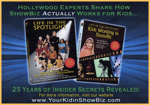 hollywood experts share how showbiz actually works for kids... 25 years of insider secrets revealed! for more information, visit our website www.yourkidinshowbiz.com